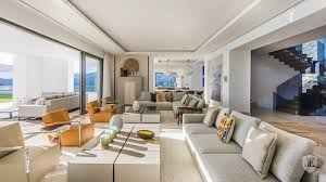 100 sea view living room elegant and cosy sea view