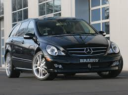 brabus mercedes benz r class 2006 picture 2 of 6