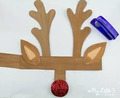 free printable reindeer activities printable reindeer antlers hat antlers craft and school