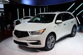 acura mdx vs lexus 2017 acura mdx gains new face tech and power autoguide com news