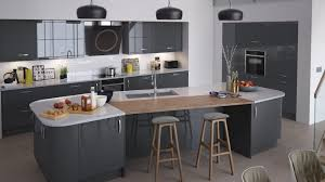 gloss kitchen ideas cream l shape kitchen cabinet grey white