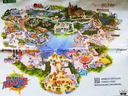 Islands Of Adventure Map Universal Studios Islands Of Adventure Orlando Pintó Viajar