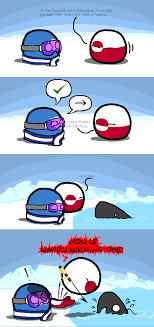 Whaling Meme - whales countryballs