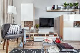 Interior Design Cost For Living Room Low Cost One Room Interior For A Contemporary Old Lady Home