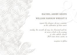wedding program sles free wedding invitations