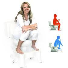 Bathroom Sitting Stools 9 Inch Toilet Step Stool For Adults Kids Bathroom Aid