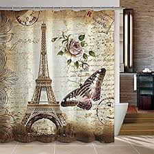 amazon com creative bath products rue di rivoli shower curtain 72