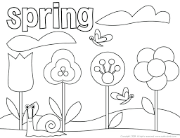 spring coloring pages kids u2013 corresponsables