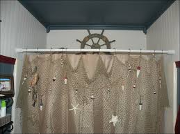 Seashell Curtains Bathroom Bathroom Awesome Rv Shower Curtain Funky Shower Curtains Ocean