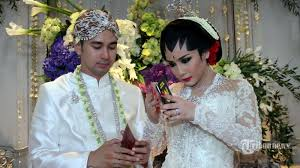wedding dress nagita slavina mandjha ivan gunawan