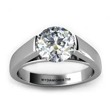tension engagement rings sachi solitaire engagment ring