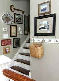 Staircase Decorating Ideas Wall Cheap Wall Decor Ideas Bedroom Best Stairway Decorating On