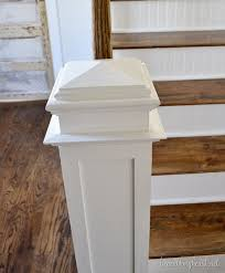 Banister Newel How To Build A Newel Post Beneath My Heart