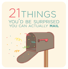 mail delivery on thanksgiving 21 things you u0027d be surprised you can actually mail