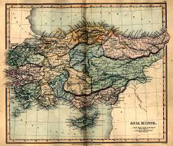 Asia Geography Map by Asia Minor Ancient Map 1849 Ancient Maps Pinterest Asia