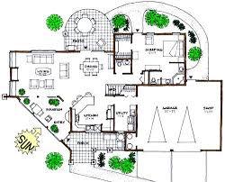 solar home design plans 3 bedroom 2 bath passive solar home design with a few minor