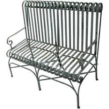 Antique Cast Iron Garden Benches For Sale by Garden Bench Fern Pattern Antique Cast Iron For Sale At 1stdibs