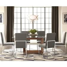 glass dining room table set glass dining room kitchen tables shop the best deals for nov