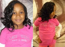 weave hairstyles for kids hair is our crown