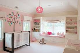 White Girls Bookcase Plush Rocking Horse In Nursery Transitional With White Bookcase