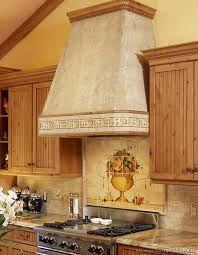 tile murals for kitchen backsplash impressive image of tuscan kitchen backsplash tile murals kitchen