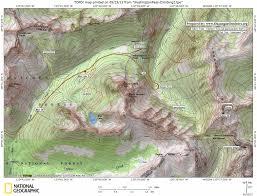 Washington State Topographic Map by Washingtonpass Climbing2 Jpg