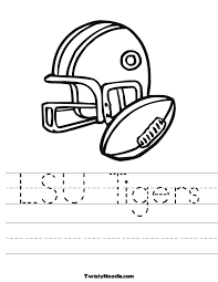 lsu coloring pages kids coloring