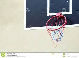 close up of basketball hoop stock image image 46147045
