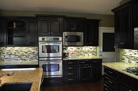 Stained Kitchen Cabinets by Gel Stain Kitchen Cabinets