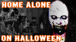 1 terrifying home alone on halloween story youtube