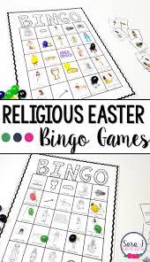 religious easter bingo sara j creations
