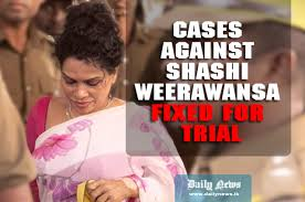 Weerawansa Remanded Cases Against Shashi Weerawansa Fixed For Trial Daily News