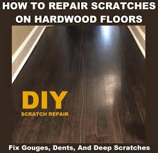 how to fix a scratched hardwood floor repair solutions