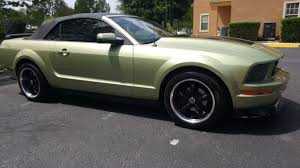 Green And Black Mustang 1zvft84n955231444 2005 Ford Mustang Custom Green And Black