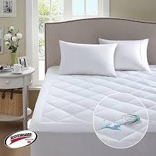Mattress Protector Bed Bath And Beyond Sleep Philosophy 3m Serenity Waterproof Mattress Pad Bed Bath