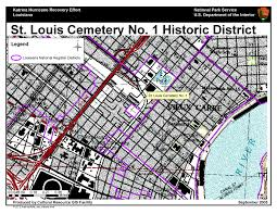 New Orleans Street Map by Ncptt Maps And Lists Katrina Rita