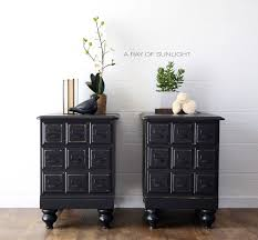 bedroom nightstand bedside end tables tall narrow nightstand