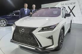 lexus rx hybrid 2015 2015 york international auto 2016 lexus rx and rx