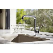 kohler k 7505 cp purist primary pullout kitchen faucet polished