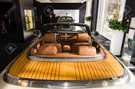 rolls royce vintage interior berlin march 08 2015 showroom interior of a luxury car rolls
