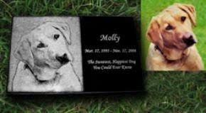 Dog Burial Backyard Get Granite Made Memorial Markers Granite Monuments Grave Markers
