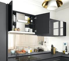 cuisine equipee but cuisine integre cuisine design avec ilot table et frigo americain
