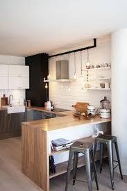 cuisine avec bar aménagement optimisé et déco pour ma cuisine ouverte cuisine avec