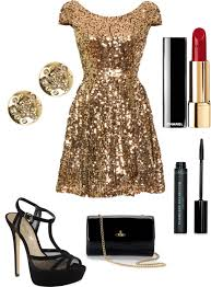 new years dresses gold list homecoming by gbotzman on polyvore my style