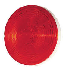 grote led trailer lights 4 round red led supernova trailer stop tail turn light grote 54332