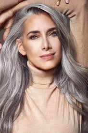 598 best hair grey grow out images on pinterest going gray