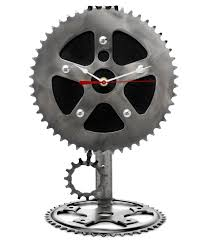 recyled bicycle parts pendulum clock graham bergh
