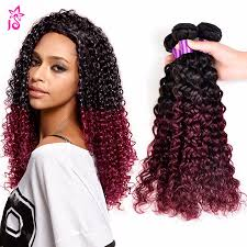 curly black bohemian hair ombre peruvian kinky curly virgin hair 99j jerry curl afro kinky