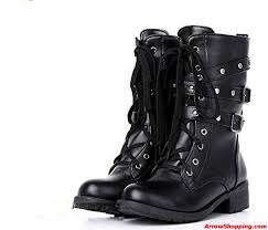 buy womens biker boots arrow real leather women motorcycle boots fashion winter ladies