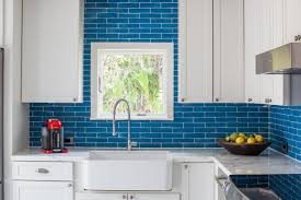 Blue Glass Kitchen Backsplash Kitchen Blue Kitchen Backsplash Best Of 9 Kitchens With Show